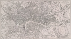 London 1849. Drawn & engraved expressly for the Post Office Directory